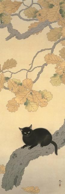 ⑤黒き猫(永青文庫)1