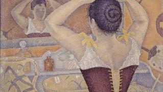 6)ポール・シニャック「髪を結う女、作品227」1