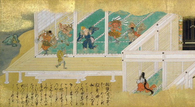 県指定文化財「太平記絵巻」巻第二(当館蔵)1