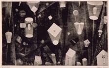2.駒井哲郎《束の間の幻影》1951年_埼玉県立近代美術館蔵