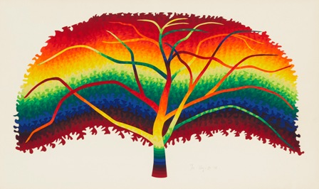 444_靉嘔《大きな透明な木》1