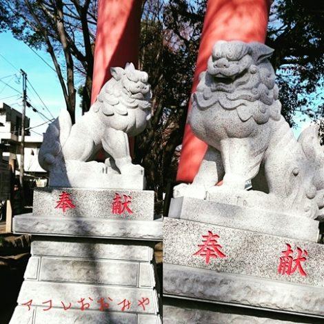 大宮 氷川神社 狛犬 武蔵一宮氷川神社