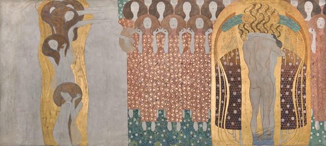 クリムト展 ウィーンと日本 1900 ベートーヴェン・フリーズ