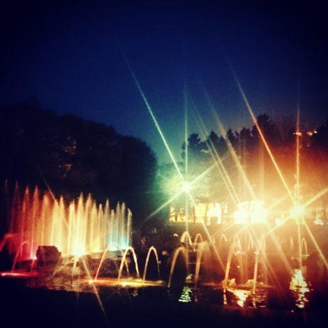 北浦和公園 音楽噴水 埼玉県立近代美術館