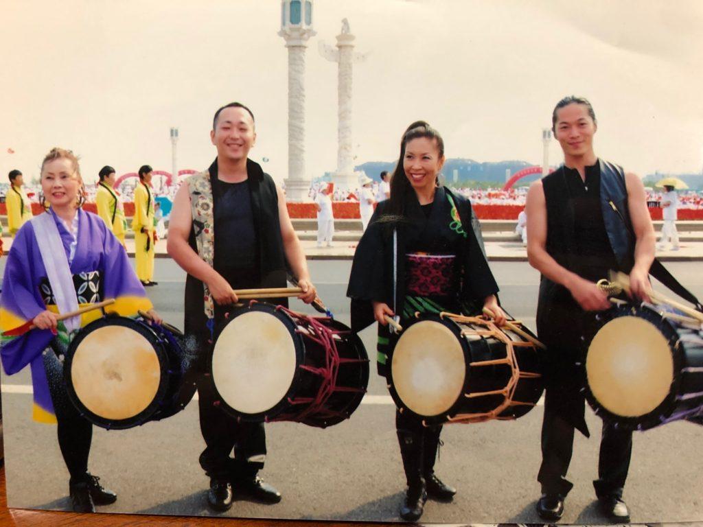 入江千代子 日本伝統文化交流会 文化庁長官表彰 大連アカシア祭