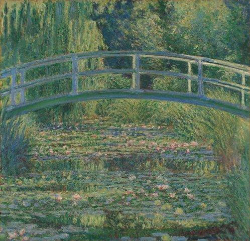 クロード・モネ  睡蓮の池  ロンドン・ナショナル・ギャラリー 国立西洋美術館