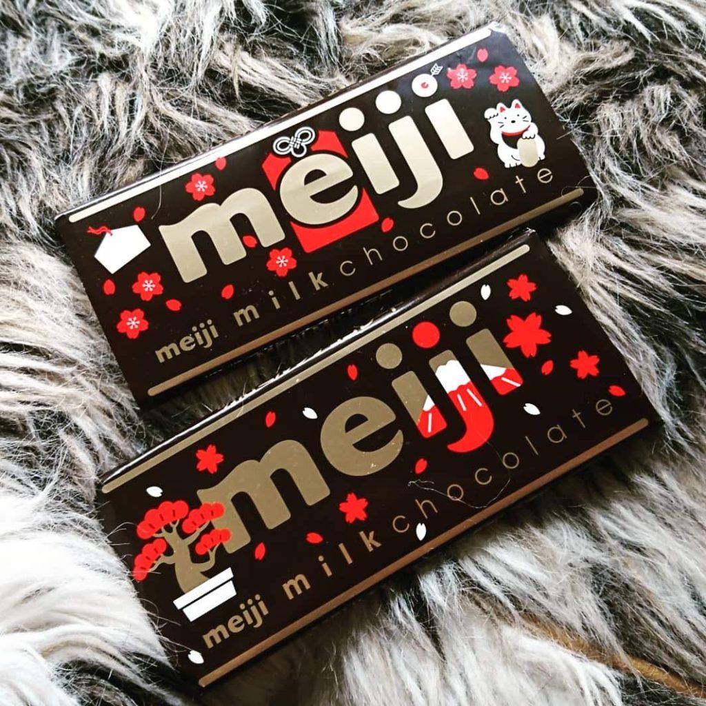 明治 ミルクチョコレート 限定 バレンタイン デザイン パッケージ