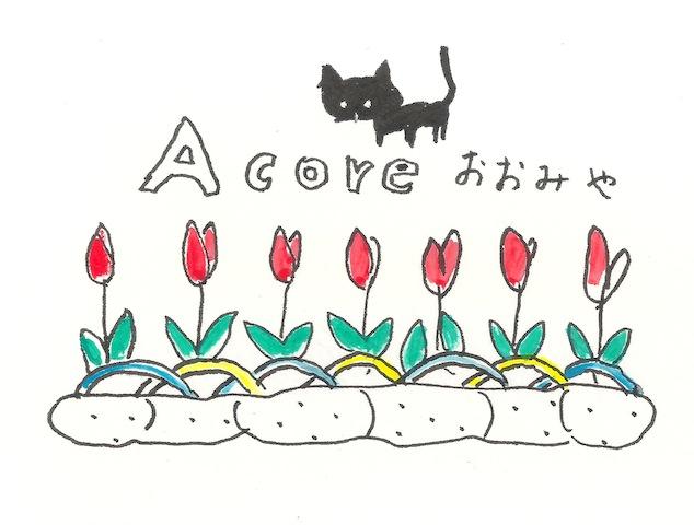 09acoreもくじイラストお花
