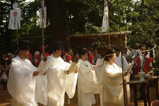 氷川女体神社 無形民俗文化財 名越しの祓え 大宮 さいたま市