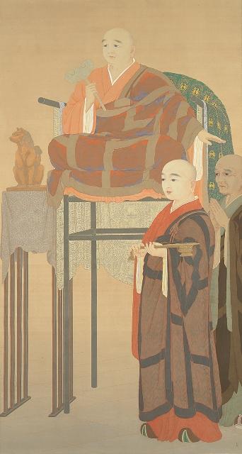 ②賢首菩薩(東京国立近代美術館)1