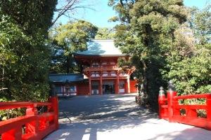 2氷川神社・神橋1