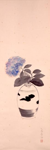 ②紫陽花図(山口蓬春)2