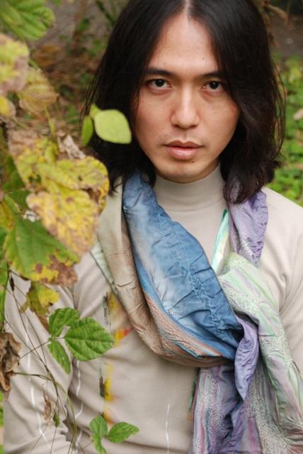 ギャラリー 樟楠 くすくす 浄土紀久子 染色展 埼玉
