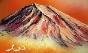 大野剛正「赤富士」1
