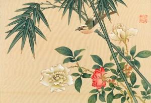06_川原慶賀《狩野家及南画家寄合画帖》1841年_m1