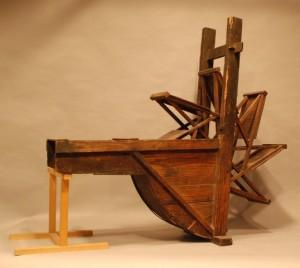 国指定重要有形民俗文化財「北武蔵の農具」(当館蔵)(2)ミズグルマ(小)1
