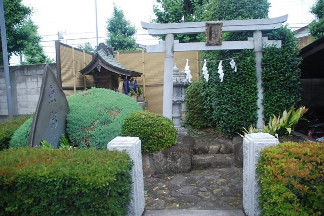 埼玉県の台所 大宮市場 開放デー お魚の供養塔