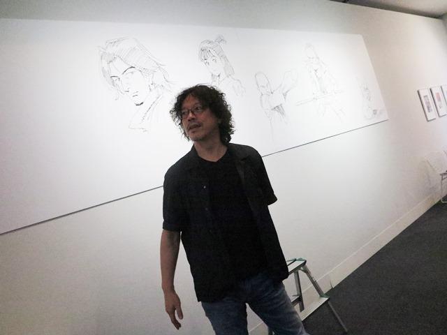 埼玉県立近代美術館 浦沢直樹展 描いて描いて描きまくる!