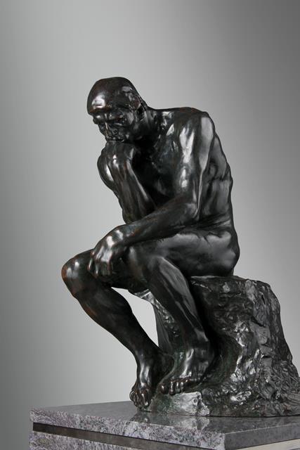 オーギュスト・ロダン 考える人  国立西洋美術館 松方コレクション