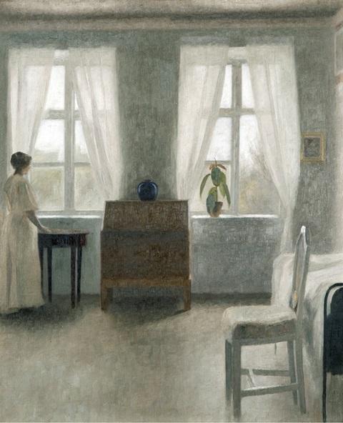 ハマスホイとデンマーク絵画 東京都美術館
