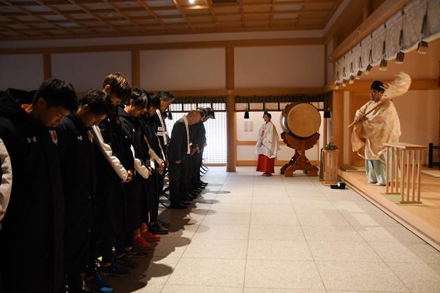 大宮アルディージャ 必勝祈願 2020 大宮 氷川神社