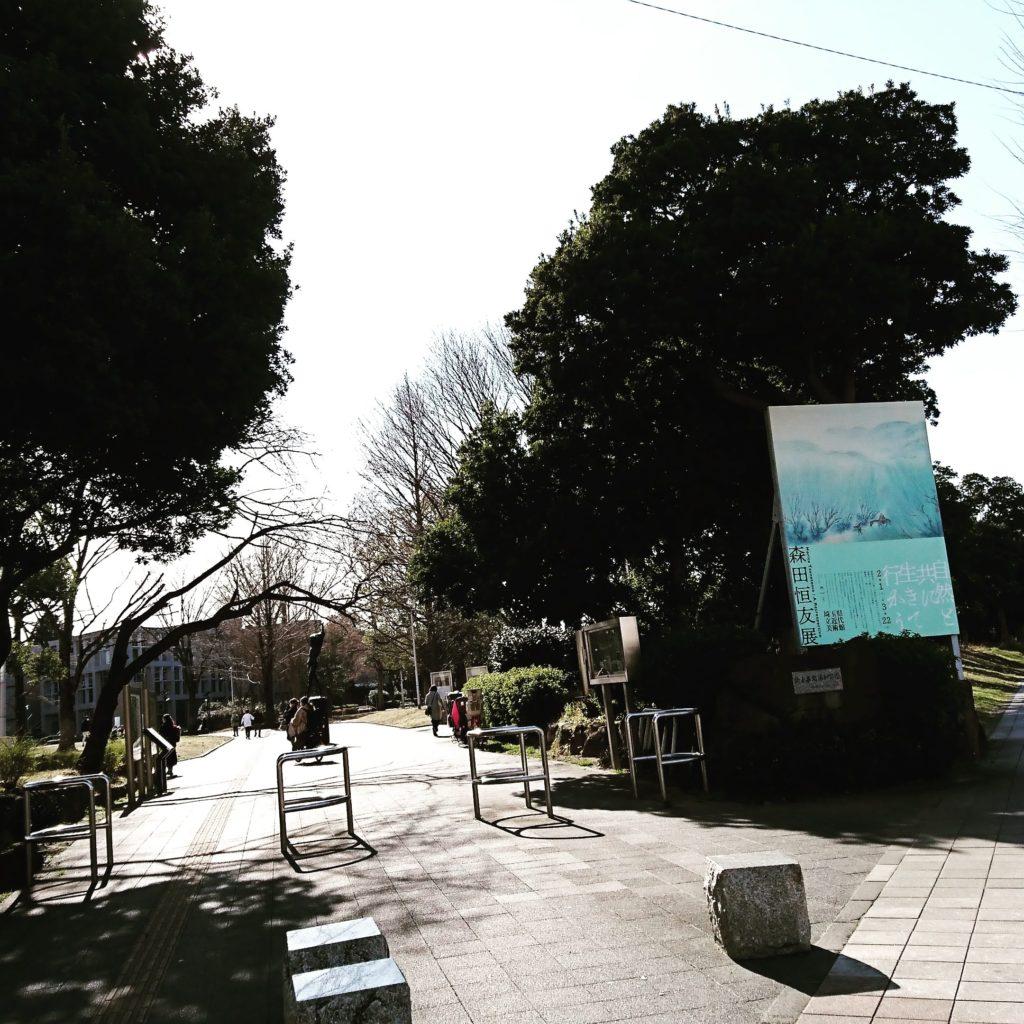 埼玉県立近代美術 森田恒友展