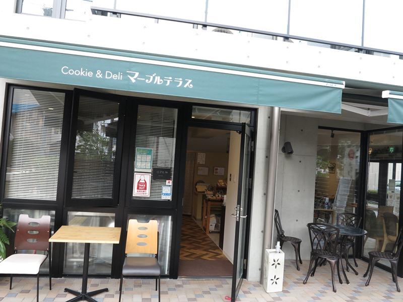 マーブルテラス カフェ 北浦和 浦和 クッキープロジェクト